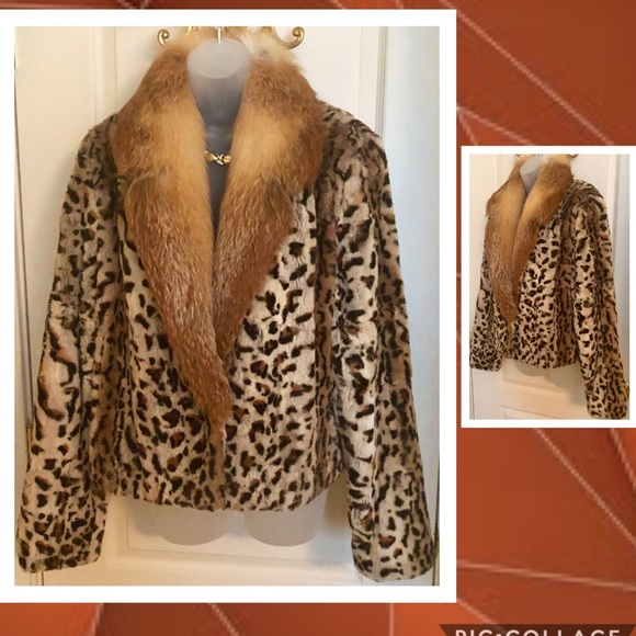 Jackets & Blazers - Gorgeous New Fox Jacket from Lord & Taylor's